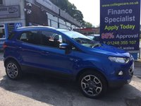 USED 2015 15 FORD ECOSPORT 1.5 TITANIUM X-PACK TDCI 5d 88 BHP, only 44000 miles ***GREAT FINANCE DEALS AVAILABLE***