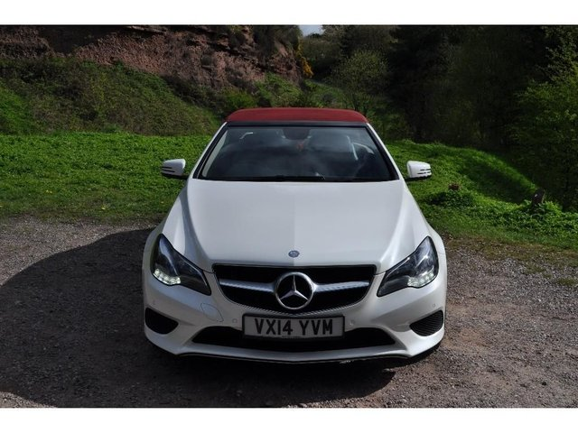 USED 2014 14 MERCEDES-BENZ E-CLASS 2.1 E220 TD CDI SE Cabriolet 7G-Tronic Plus 2dr
