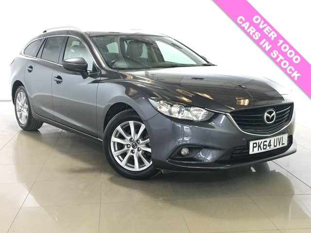 View our 2015 64 MAZDA 6 2.2 D SE-L NAV 5d 148 BHP