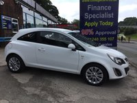 USED 2014 14 VAUXHALL CORSA 1.2 SE 3d 83 BHP, only 39000 miles ***GREAT FINANCE DEALS AVAILABLE***