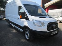 USED 2016 16 FORD TRANSIT 350 L4 H3 JUMBO LWB High roof 4 Metre 125 PS *BLUETOOTH* BLUETOOTH - PLYLINED - 4 METRE LOAD AREA