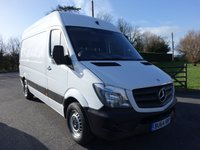 USED 2014 64 MERCEDES-BENZ SPRINTER 316  MWB HIGHTOP 2.1 CDI  163 BHP