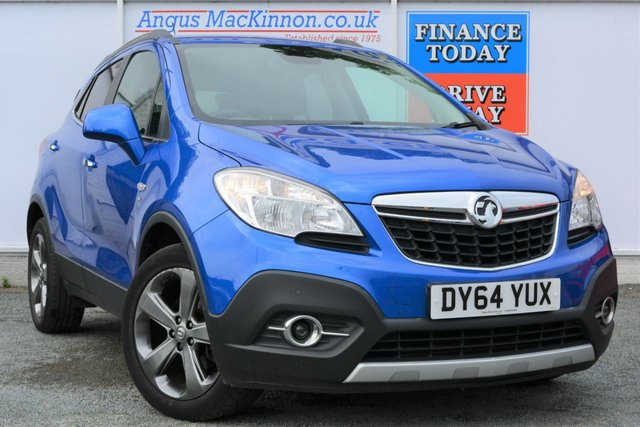 2014 64 VAUXHALL MOKKA 1.7 SE CDTI Lovely High Spec SUV in a Stunning Blue with Low Road Tax and High 62mpg