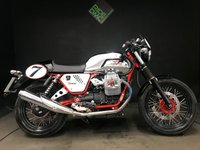 USED 2012 62 MOTO GUZZI V7 CAFE RACER. 12. METAL TANK. 293 MILES. 1 OWNER. A BEAUTY.