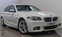 2015 BMW 5 SERIES 2.0 520D M SPORT 4d AUTO 188 BHP £16490.00