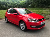 2014 VOLKSWAGEN POLO 1.2 MATCH EDITION 3d 59 BHP £6990.00