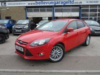 USED 2013 62 FORD FOCUS 1.0 ZETEC 5d 124 BHP