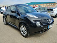 USED 2011 11 NISSAN JUKE 1.6 TEKNA 5d 117 BHP Satellite Navigation | Reverse Parking Camera | Cruise Control | Heated Leather Seats | USB | Aux | Finance Available Please Call 01733 891250