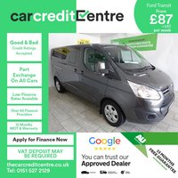 USED 2016 66 FORD TRANSIT CUSTOM 2.0 310 LIMITED LR P/V 1d 129 BHP
