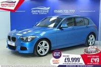 2013 BMW 1 SERIES 2.0 116D M SPORT 5d 114 BHP £9999.00