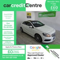 USED 2014 63 MERCEDES-BENZ A CLASS 1.5 A180 CDI BLUEEFFICIENCY AMG SPORT 5d 109 BHP