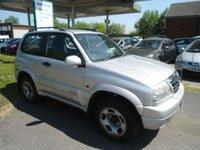 2004 SUZUKI GRAND VITARA 1.6 16V SE 3d 92 BHP £1495.00
