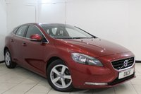 USED 2014 64 VOLVO V40 1.6 D2 SE 5DR AUTOMATIC 113 BHP FULL SERVICE HISTORY + HEATED HALF LEATHER SEATS + BLUETOOTH + CRUISE CONTROL + CLIMATE CONTROL + MULTI FUNCTION WHEEL + ELECTRIC WINDOWS + 16 INCH ALLOY WHEELS