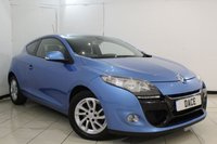 USED 2013 63 RENAULT MEGANE 1.5 DYNAMIQUE TOMTOM ENERGY DCI S/S 3DR 110 BHP SERVICE HISTORY + BLUETOOTH + PARKING SENSOR + CRUISE CONTROL + AIR CONDITIONING + ELECTRIC WINDOWS + 16 INCH ALLOY WHEELS
