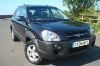 2006 HYUNDAI TUCSON 2.0 GSI DRTD 4WD 5d 138 BHP LOW MILEAGE  £2395.00