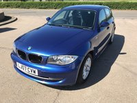 USED 2007 07 BMW 1 SERIES 1.6 116I SE 5d 114 BHP