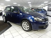 USED 2012 12 VOLKSWAGEN GOLF 1.6 TDI MATCH BMT DSG 105 BHP FULL HEATED LEATHER FVWSH DAB