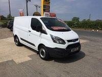 2015 FORD TRANSIT CUSTOM 290 2.2 ECO-TECH **ONE OWNER DIRECT**ONLY 57,000**FFSH* £9995.00