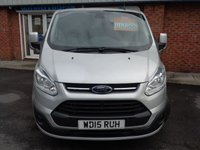 USED 2015 15 FORD TRANSIT CUSTOM 2.2 290 LIMITED LR P/V 1d 124 BHP