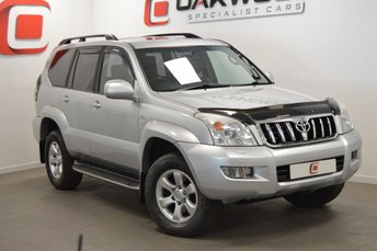 2008 TOYOTA LAND CRUISER 3.0 D-4D LC4 8 STR 5d AUTO 171 BHP £SOLD