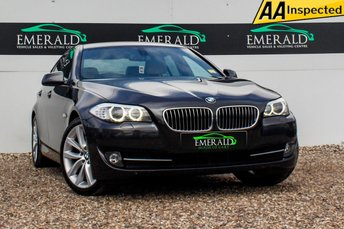 2010 BMW 5 SERIES 3.0 530D SE 4d AUTO 242 BHP £10500.00