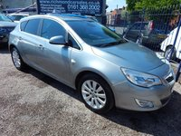 USED 2012 12 VAUXHALL ASTRA 2.0 ELITE CDTI S/S 5d 163 BHP BLACK LEATHER, AIRCON , CD , ALLOYS