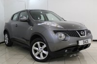 USED 2012 12 NISSAN JUKE 1.5 ACENTA DCI 5DR 110 BHP BLUETOOTH + CRUISE CONTROL + MULTI FUNCTION WHEEL + AUXILIARY PORT + AIR CONDITIONING + 17 INCH ALLOY WHEELS