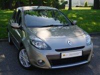 2010 RENAULT CLIO 1.6 INITIALE TOMTOM VVT 5d AUTO 111 BHP £5495.00
