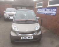 USED 2010 10 SMART FORTWO 0.8 PASSION CDI 2d AUTO 54 BHP 2 OWNERS, ONLY 23K MILES