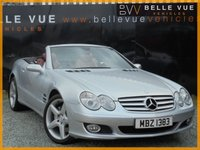 USED 2006 56 MERCEDES-BENZ SL 5.5 SL500 2d AUTO 383 BHP *19'' AMG ALLOYS, PAN ROOF*