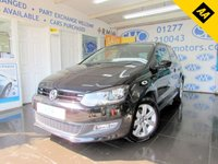 2013 VOLKSWAGEN POLO 1.2 MATCH EDITION 3d 59 BHP £SOLD