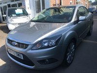 USED 2009 09 FORD FOCUS 2.0 CC2 2d 144 BHP