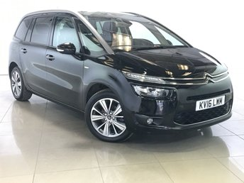 2016 CITROEN C4 GRAND PICASSO 1.6 BLUEHDI EXCLUSIVE PLUS 5d 118 BHP £14490.00