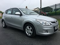 2009 HYUNDAI I30 1.6 COMFORT CRDI 5d 4 new tyres fsh 75000 miles very well looked after car  £2795.00
