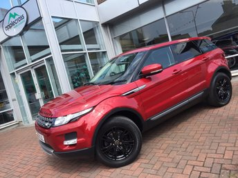 2013 LAND ROVER RANGE ROVER EVOQUE 2.2 SD4 PURE TECH 5d 190 BHP £21750.00