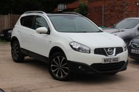USED 2012 12 NISSAN QASHQAI 1.6 N-TEC PLUS 5d 117 BHP **** SAT NAV * PARKING CAMERA ( SURROUND VIEW ) * PANORAMIC ROOF ****