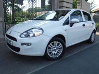 USED 2016 16 FIAT PUNTO 1.2 POP PLUS 5d 69 BHP *** FINANCE & PART EXCHANGE WELCOME *** AIR/CON CITY STEERING MODE CD PLAYER ALLOY WHEELS