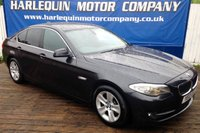 2012 BMW 5 SERIES 2.0 520D EFFICIENTDYNAMICS 4d 181 BHP £6999.00