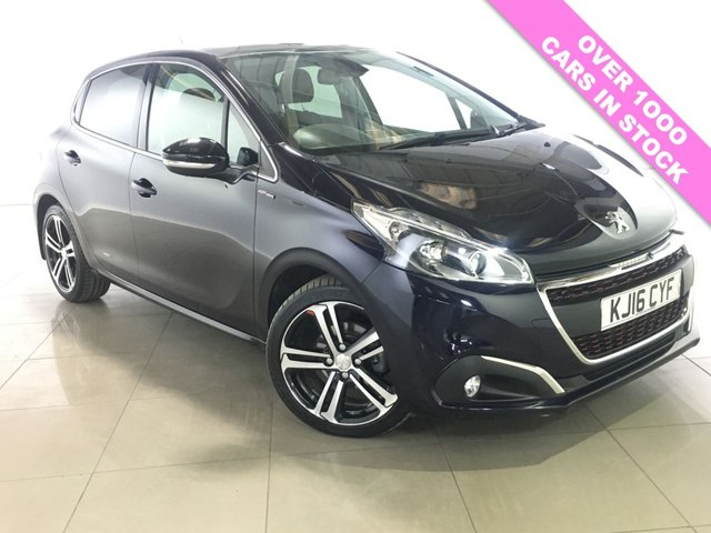 View our 2016 16 PEUGEOT 208 1.6 BLUE HDI S/S GT LINE 5d 120 BHP