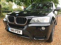 2011 BMW X3 2.0 XDRIVE20D SE 5d AUTO 181 BHP £7900.00