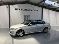 2010 MERCEDES-BENZ C CLASS 2.1 C220 CDI BLUEEFFICIENCY SPORT 4d AUTO 170 BHP £10000.00