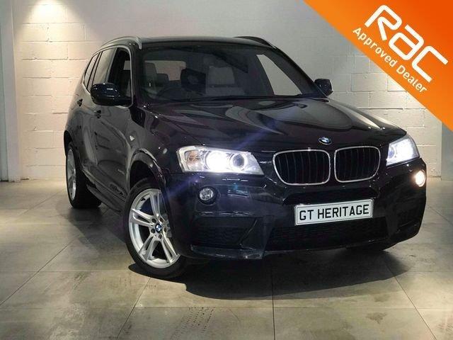 2012 12 BMW X3 2.0 XDRIVE20D M SPORT 5d 181 BHP