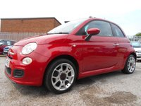 2014 FIAT 500 1.2 S 3d 69 BHP £5795.00