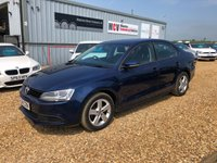 2014 VOLKSWAGEN JETTA 1.6 SE TDI BLUEMOTION TECHNOLOGY 4d 104 BHP £7990.00