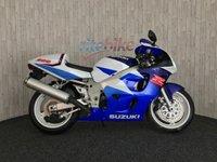 1997 SUZUKI GSXR600 GSXR600 SUZUKI GSXR 600 V S-RAD MOT TILL 02  MAY 19 1997 £2290.00