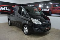 2016 FORD TRANSIT CUSTOM 2.0 270 LIMITED LR P/V 129 BHP £13950.00