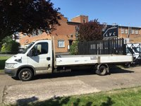 USED 2005 05 IVECO DAILY 2.3 35C12 XLWB DROPSIDE 19FT TRUCK LORRY 116BHP. TWIN WHEEL IDEAL SCAFFOLDING TRUCK. RARE SIZE.