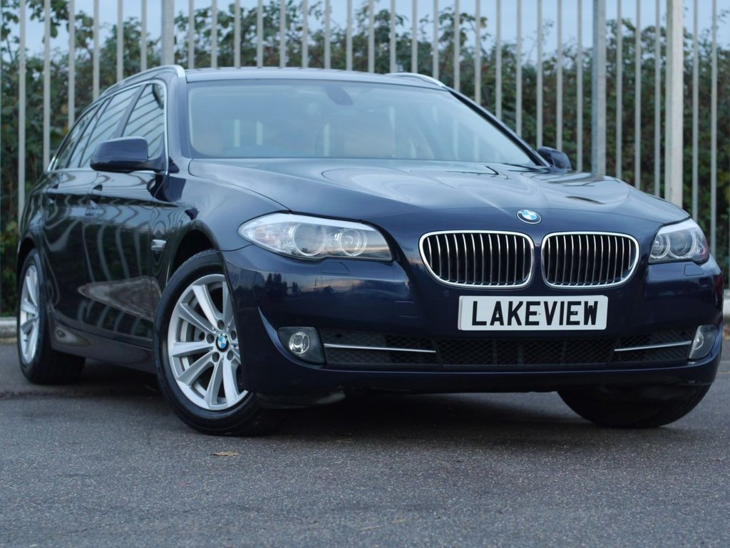 USED 2011 60 BMW 5 SERIES 2.0 520D SE TOURING 5d 181 BHP