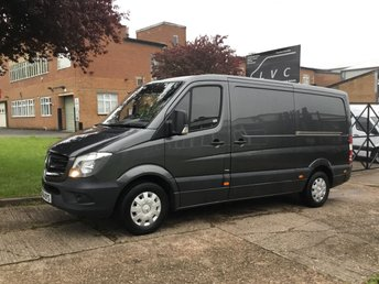 2014 MERCEDES-BENZ SPRINTER 2.1 316CDI MWB 163BHP LOW ROOF. GREY. AIRCON. 1 OWNER £13490.00