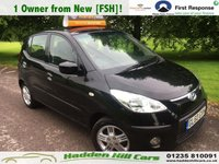 USED 2011 60 HYUNDAI I10 1.2 COMFORT 5d 77 BHP 1 Owner From New! [FSH]